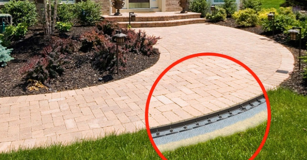 Charmant Snap Edge Paver Edging
